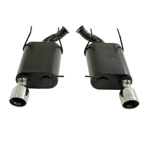 2011-2013 Mustang 3.7L V6 Flowmaster Force 2 Axle-Back Exhaust System