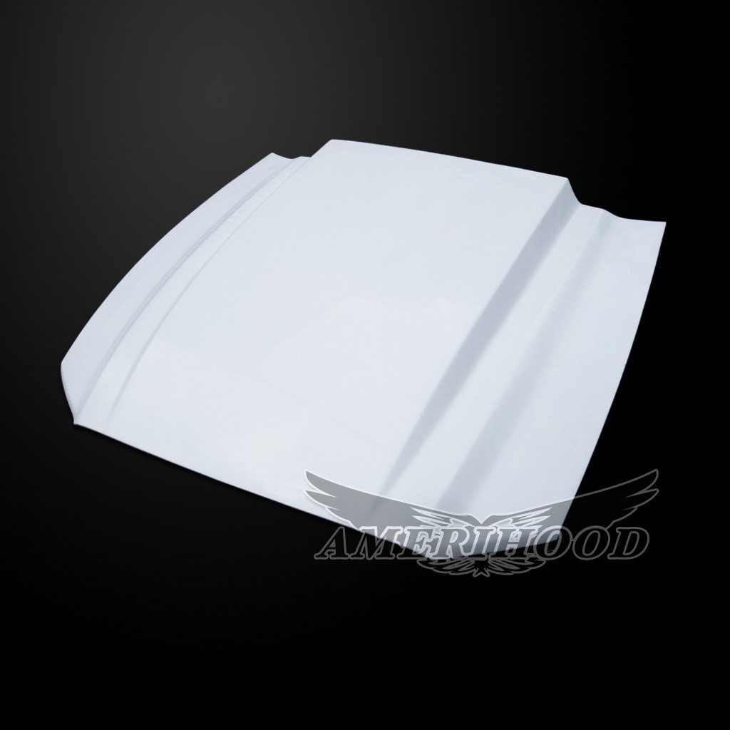2010-2014 GT500 (NEW 2013-14 GT/V6) Mustang 3 Inch Cowl Style Functional Heat Extraction Hood by Amerihood (Fiberglass)