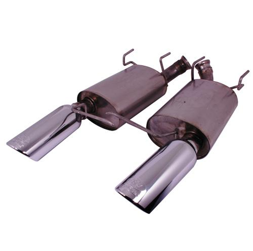 2011-2013 Mustang V6 Touring Mufflers (50 State)