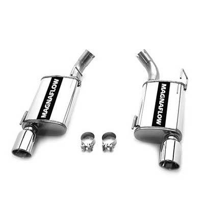 2010 Mustang Magnaflow GT/ GT500 Axle Back Exhaust System