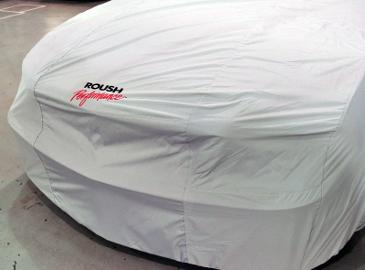 2010-2011 Mustang Roush Car Cover Silvergaurd (Indoor)