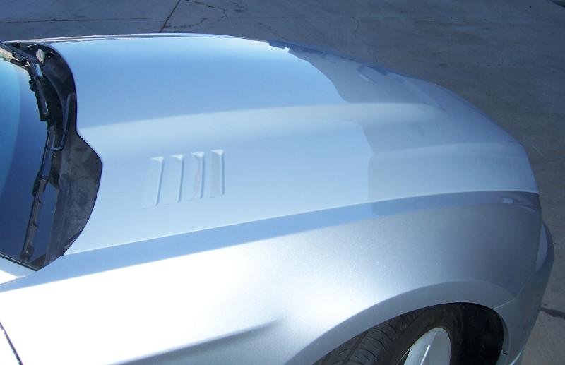2010-2012 Mustang RK Sports Ram Air Hood (GT & V6)