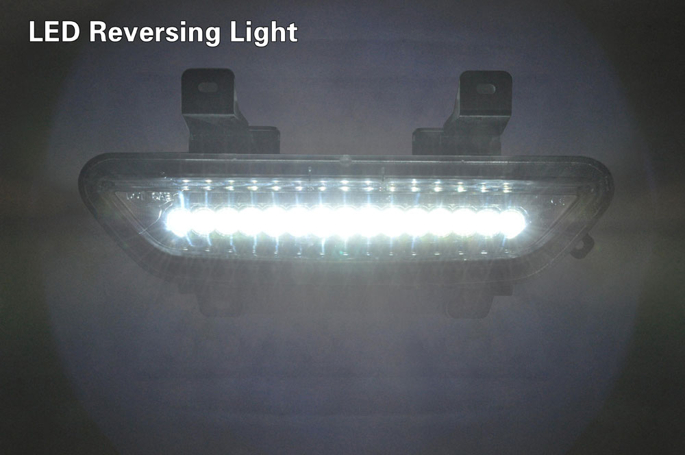 2015-17 Mustang Reverse LED Light & LED Brake Light - CLEAR LENS