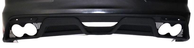 15-17 Mustang GT350 V2 Style Rear Lower Valance - Polypropylene Plastic (NO TIPS) (Must have Performance Pack w/Valance)
