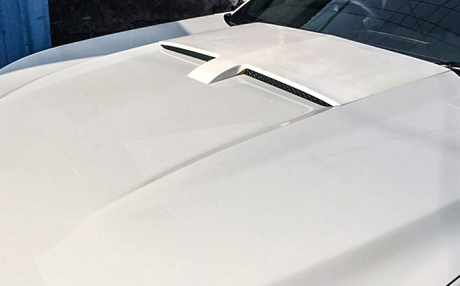 2015-2017 Mustang HOOD SCOOP - Polyurethane (Fits all 2015-17 Models)