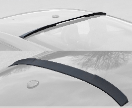 2015-18 Mustang Roof Upper back window Spoiler - Polyurethane