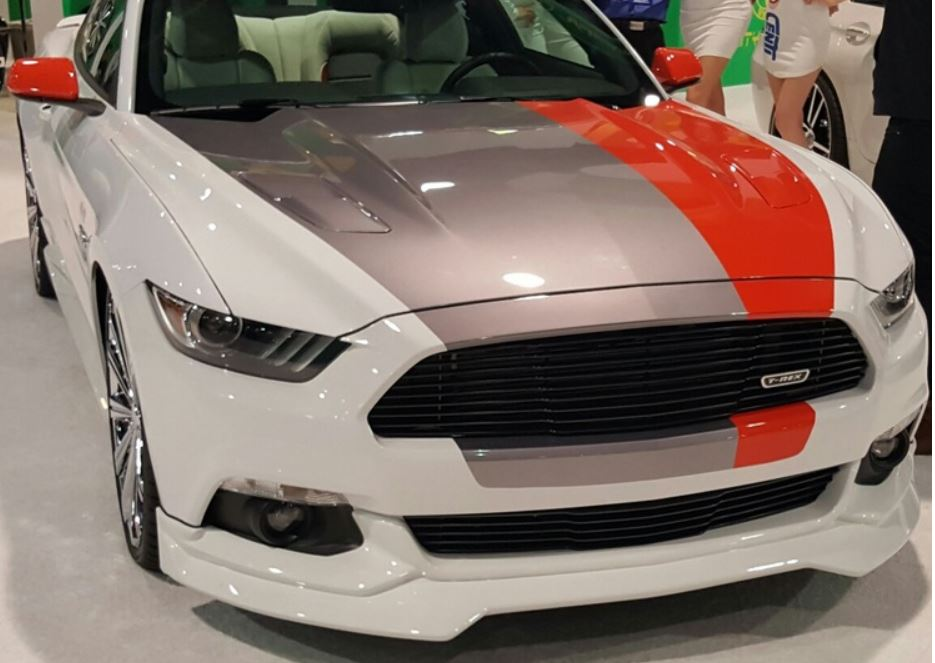 2015-17 Mustang Razzi Front Bumper AERO-FLEX ABS Plastic GT/V6/ECO (PAINT OPTIONS)
