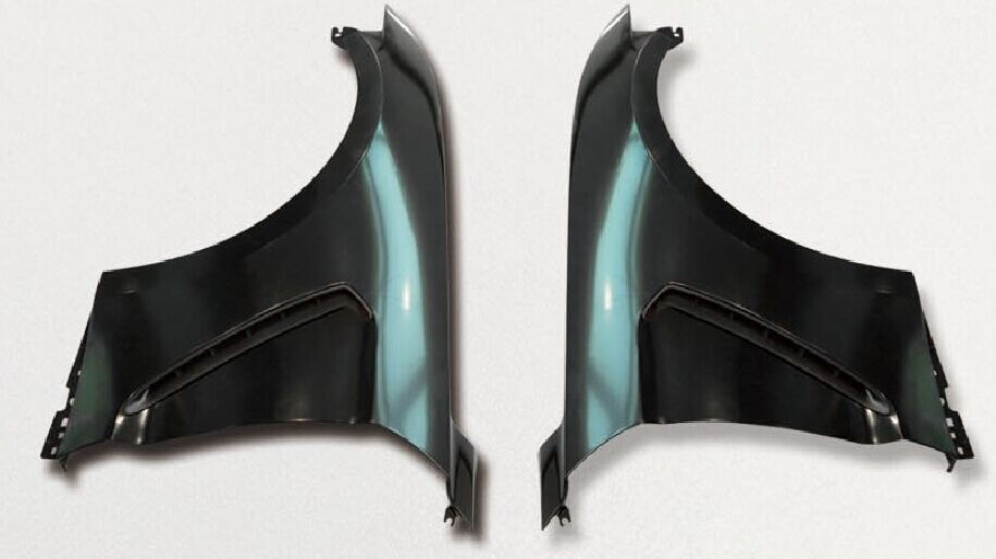 15-18 Mustang GT350 Style STEEL Fenders Includes - RH and LH Pair (Fits all 15+ Models) Light weight Steel