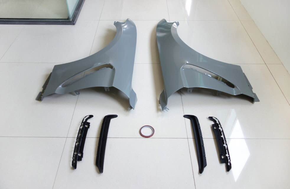 15-17 Mustang GT350 Style STEEL Fenders Includes - RH and LH