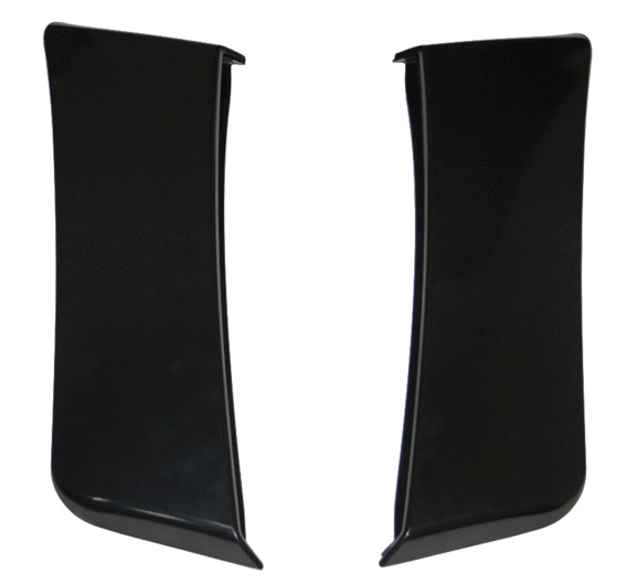 2015-17 Mustang Lower RO Style Door Scoops - PAIR - Polyurethane