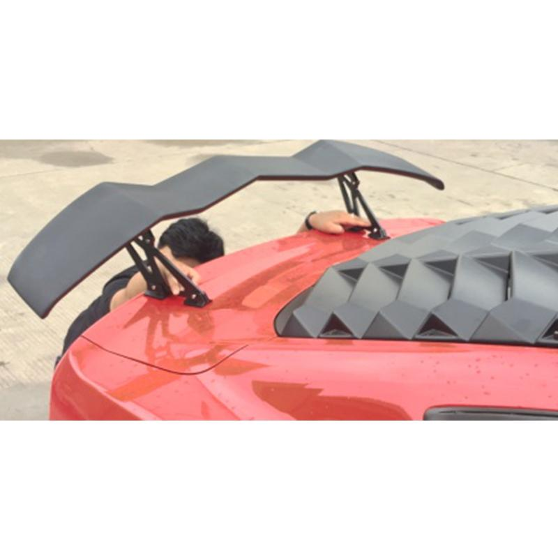 2015-18 Mustang Lambo Style Wing ABS with Aluminum Legs