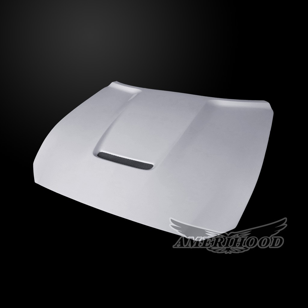 2015-2017 Mustang GT350 Style Hood by Amerihood (Fits all 2015 Models) (FIBERGLASS)