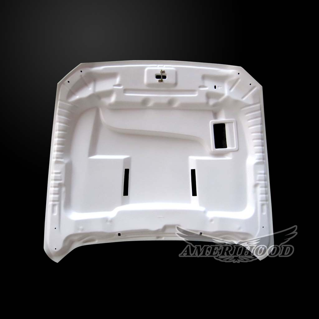 2015-2017 Mustang SSE Ram Air HEAT EXTRACTOR Hood by Amerihood (Fiberglass)