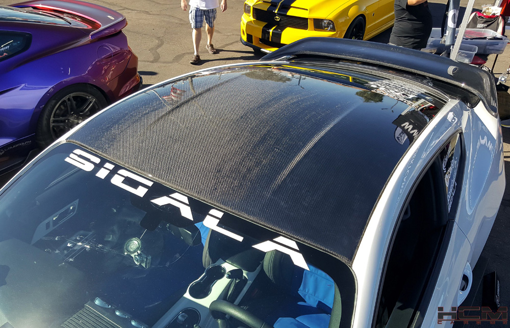 2015-2019 Mustang Roof Carbon Fiber by HCM (Fits all 2015 Models) CARBON FIBER