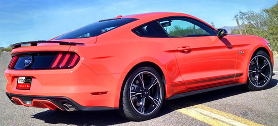 2015-18 Mustang Coupe CALIFORNIA GT SPECIAL NO-LIGHT FACTORY-STYLE (not convertible) (Paint Options)