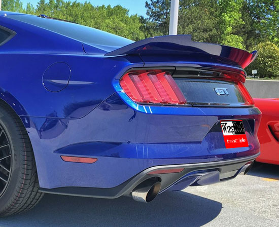 2015-18 Mustang Coupe Duckbill Rear Spoiler (Paint Options)