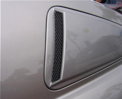 2010-13 Mustang V6 & GT - DG Upper Scoops (Paint Options)