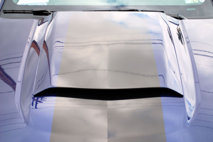 2010-2012 Mustang Factory Style Hood Scoop by DG (Paint Options)