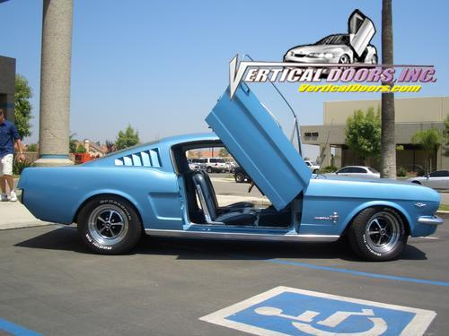 1964 1/2 - 1966 Mustang VERTICAL DOOR KIT system (Direct Bolt on)