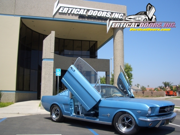 1969-1970 Mustang VERTICAL DOOR KIT system (Direct Bolt on)