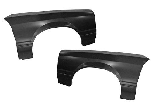 1979-90 Mustang Front Fender Pair W/O Molding Holes