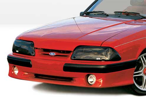 87-93 Mustang COBRA STYLE- Front Add-on Valance - Fits LX only (Urethane)