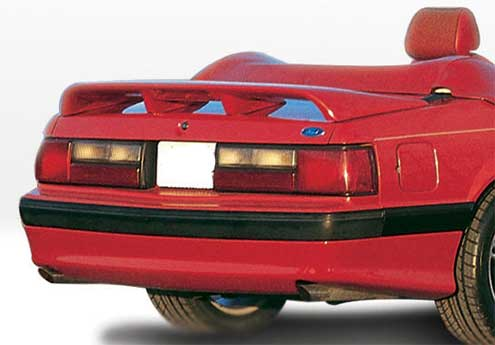 87-93 Mustang COBRA STYLE- Rear Add-on Valance - Fits LX only (Urethane)