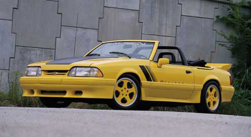 88-89 Mustang SALEEN - 4pc Body kit - Fits LX only (Urethane)