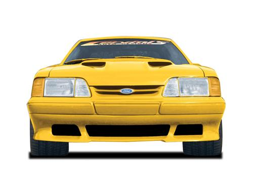 87-90 Mustang SALEEN Style - Front Bumper Valance - Fits LX only (Urethane)