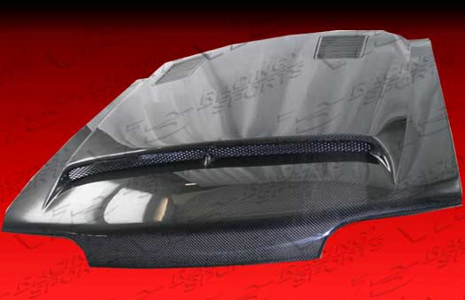 87-93 Mustang GTS Style Hood (CARBON FIBER)