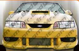 1983-1986 Ford Mustang Factory Fiberglass Headlight Support Header Panel Damaged