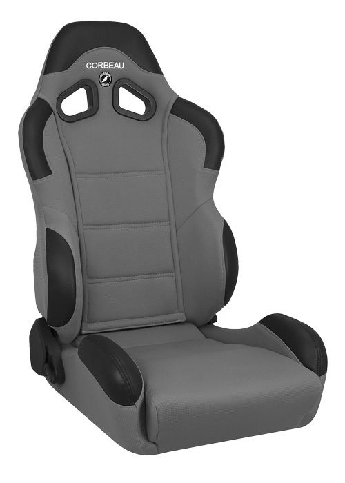 Corbeau CR1 Grey Cloth Racing Seat