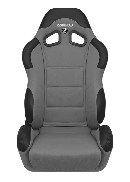 Corbeau CR1 Grey Cloth Racing Seat - Wide Version