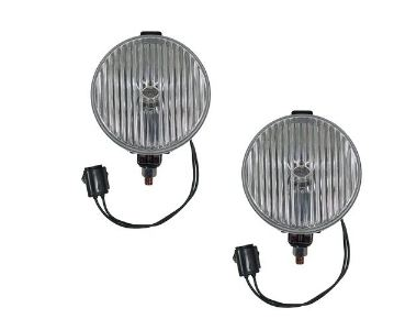 87-93 Mustang Fog Lights - OEM Clear (Pair)