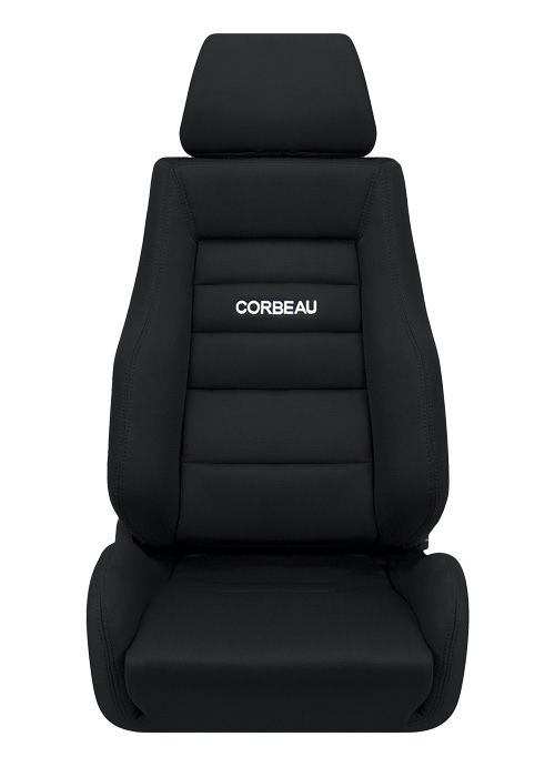 Corbeau GTS II Black Cloth Racing Seat