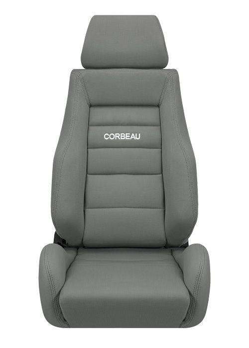 Corbeau GTS II Grey Cloth Racing Seat
