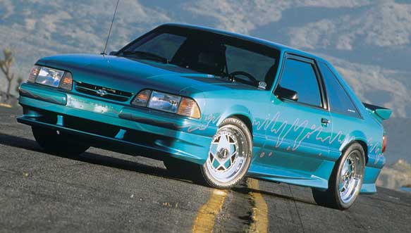 87-93 Mustang XENON - 4pc Body kit - Fits LX only (Urethane)
