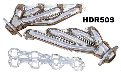 1979-93 Mustang 5.0L Shorty Headers - Stainless Steel - By PYPES