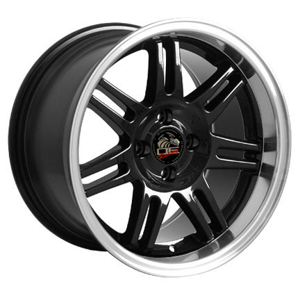 "10th Anniversary Rims BLACK - 4 Lug 79-93 (sizes available 17x9"")"