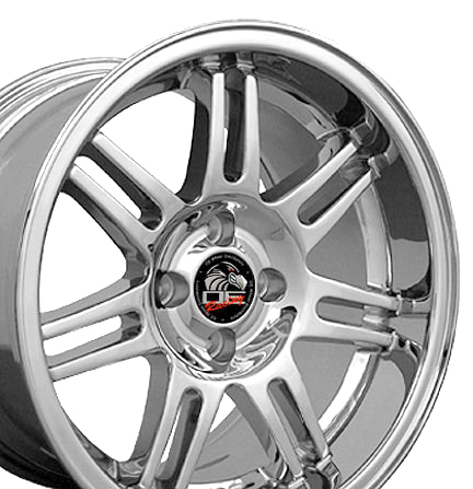 "10th Anniversary Rims CHROME - 4 Lug 79-93 (sizes available 17x9 or 17x10"")"