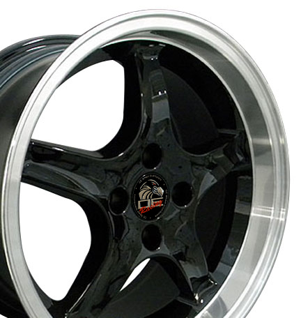 "COBRA R - BLACK - 4 Lug 79-93 (sizes available 17"" only)"