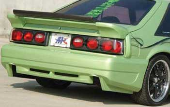 87-93 Mustang DEMON - Rear Bumper - Fits GT / LX (Urethane)