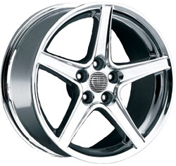 "STALKER STYLE ""S"" CHROME - 4 Lug 79-93 (sizes available 17"")"