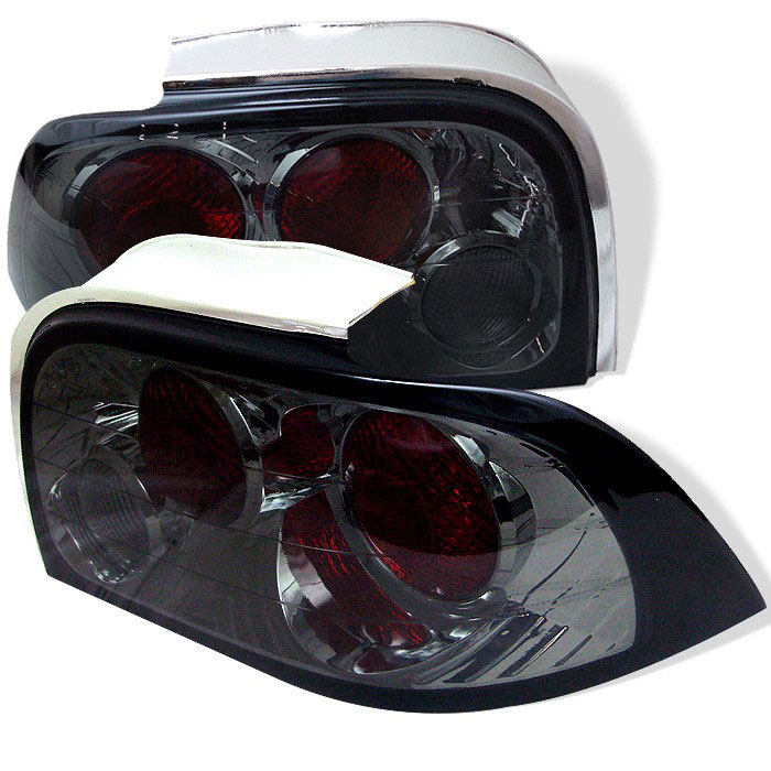 94-98 Mustang Taillights Gen 1 Style - SMOKED LENS (Pair)