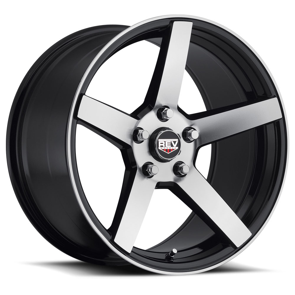 18 INCH REV 208 Rims - 5 Lug 05-16 (sizes available 18x8 & 18x9.5 & Staggered) - Package price for (4)