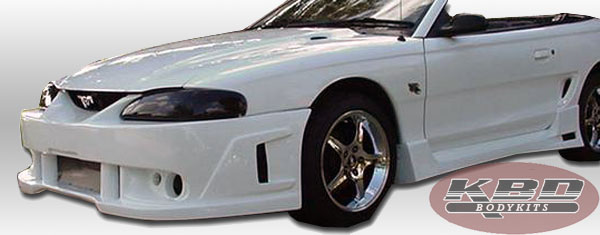 94-98 Mustang SPIDER X9 - SPY2 Front Bumper - (Urethane) FREE SHIPPING