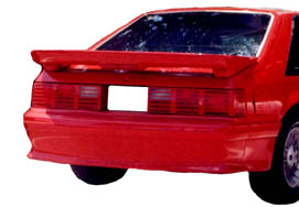 1979-1993 Mustang SLN Hatch Back Wing WITH BRAKE LIGHT HOLE