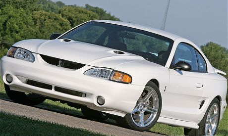 94-98 Mustang COBRA Upper & Lower COBRA Billet Grille COMBO
