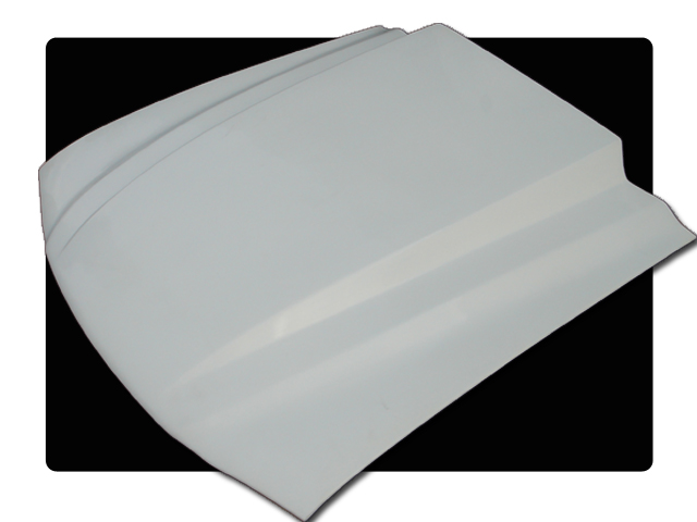94-98 Mustang 3 INCH COWL Hood (Fiberglass) A49-3 by Trufiber (3 INCH RISE)
