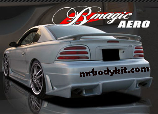 94-98 Mustang B MAGIC - Rear Bumper - (Fiberglass)